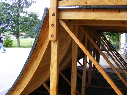 Lärchenholzkonstruktion